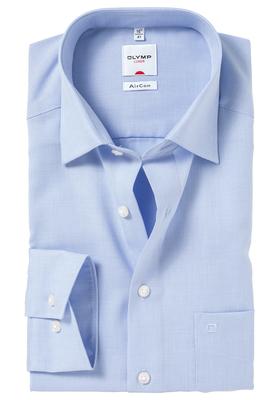 OLYMP AirCon Comfort Fit overhemd, licht blauw