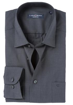 Casa Moda Comfort Fit overhemd, antraciet