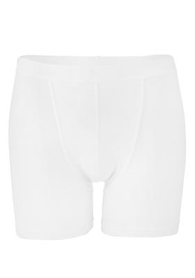 RJ Bodywear, heren boxershort met lange pijpen, wit