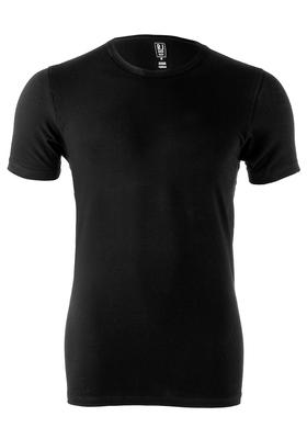 RJ Bodywear, T-shirt O-hals, zwart (stretch)