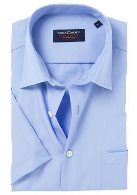 Casa Moda Comfort Fit, overhemd korte mouw, blauw