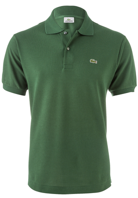 Lacoste Classic Fit polo, donker groen