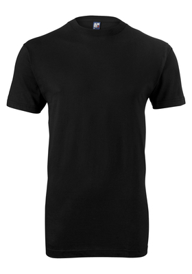 Alan Red T-shirt Virginia, O-hals, zwart