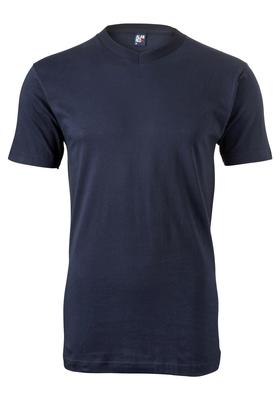 Alan Red T-shirt West Virginia, V-hals, donker blauw