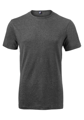 Alan Red T-shirt Derby, O-hals, antraciet