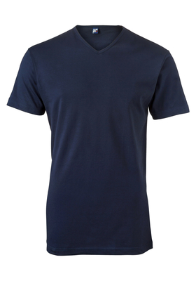 Alan Red T-shirt Vermont, V-hals, donker-blauw