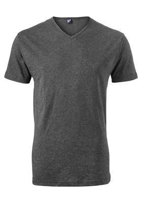 Alan Red T-shirt Vermont, V-hals, antraciet