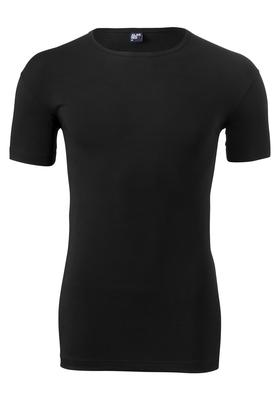 Alan Red stretch T-shirt Ottawa, O-hals, zwart