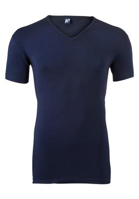 Alan Red stretch T-shirt Oklahoma, V-hals, donker blauw