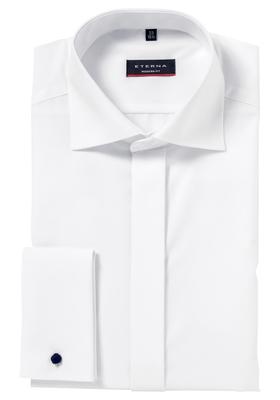 Eterna Modern Fit Smoking overhemd, mouwlengte 7, wit (kent)