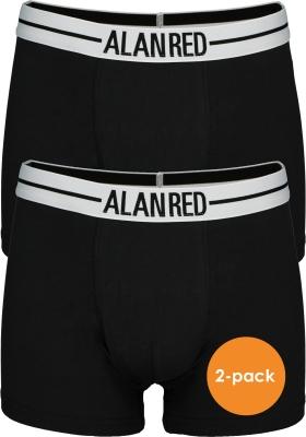 ALAN RED boxershorts (2-pack), zwart