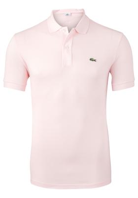 Lacoste Slim Fit polo, flamingo roze