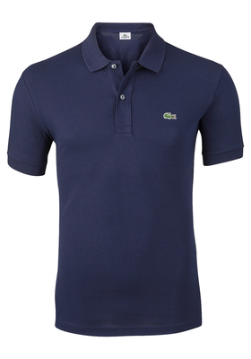 Lacoste Slim Fit polo, marine blauw