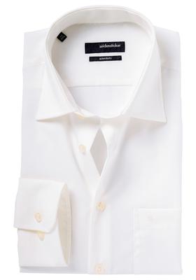 Seidensticker Modern Fit overhemd, beige