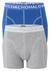 Muchachomalo boxershorts 2-pack, blauw / grijs