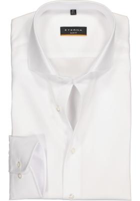 Eterna Slim Fit overhemd, wit