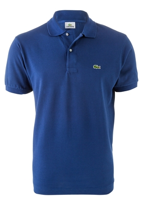Lacoste Classic Fit polo, donker blauw
