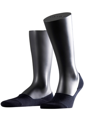 Falke Step invisible herensokken, blauw
