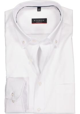 ETERNA modern fit overhemd, Oxford button-down, wit