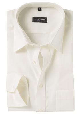 ETERNA Comfort Fit overhemd, beige