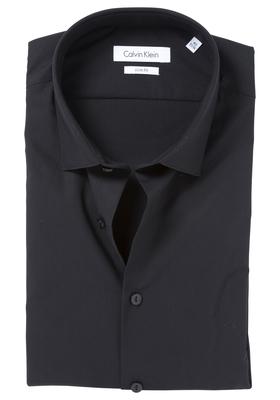 Calvin Klein Slim Fit overhemd (Bari), zwart