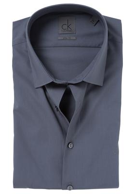 Calvin Klein Slim Fit overhemd (Bari), donker grijs
