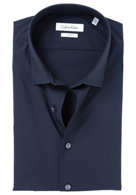 Calvin Klein Slim Fit overhemd (Bari), nacht blauw