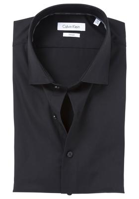Calvin Klein Fitted overhemd (Cannes), zwart