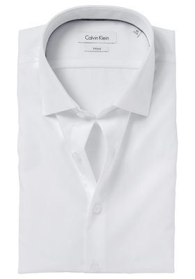 Calvin Klein Fitted overhemd (Cannes), wit