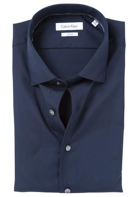 Calvin Klein Fitted overhemd (Cannes), nacht blauw