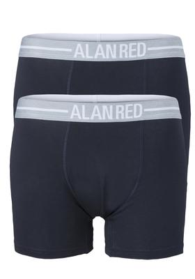 Alan Red boxershorts, 2-pack, navy blauw