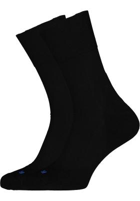 Falke Run Unisex sokken, zwart