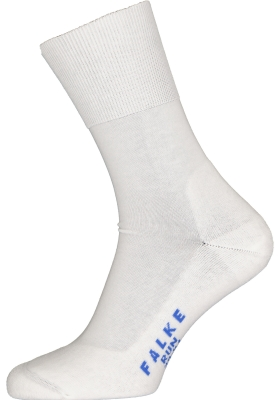 FALKE Run unisex sokken, wit (white)