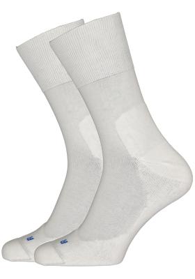 Falke Run Unisex sokken, wit