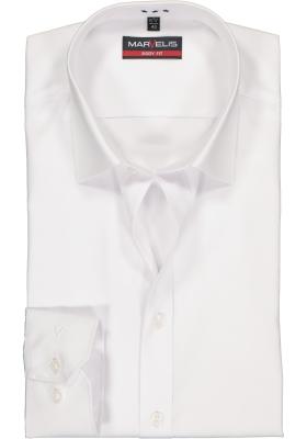 MARVELIS body fit overhemd, wit