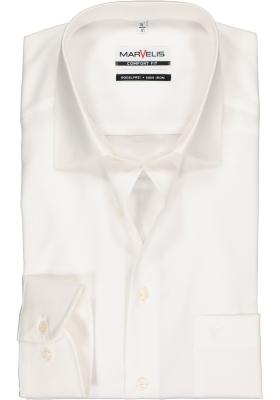 MARVELIS Comfort Fit overhemd, beige