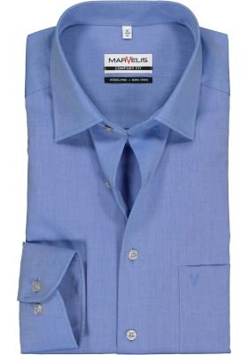 MARVELIS Comfort Fit overhemd, blauw