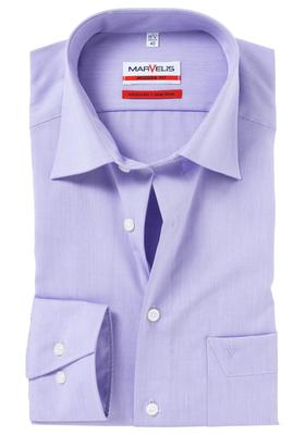 MARVELIS Modern Fit overhemd, lila