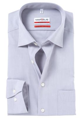 MARVELIS Modern Fit overhemd, grijs