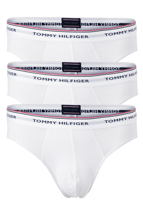 Tommy Hilfiger slips (3-pack), wit