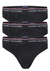 Tommy Hilfiger slips (3-pack), zwart