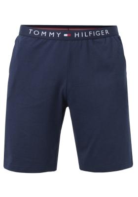 Tommy Hilfiger heren lounge short, korte broek dun, blauw