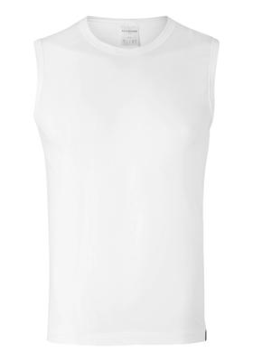 SCHIESSER 95/5 tanktop (1-pack), hoge O-hals, wit