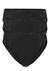 Schiesser Cotton Essentials, Supermini slip, 3-pack, zwart