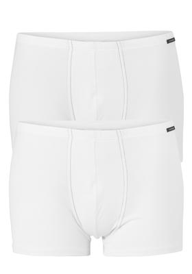 Schiesser Cotton Essentials, Shorts, 2-pack, wit