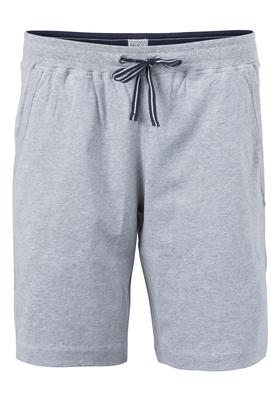 Schiesser heren korte lounge broek (middel dik), grijs