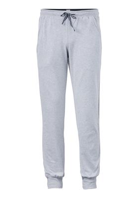 Schiesser heren lounge broek (middel dik), grijs