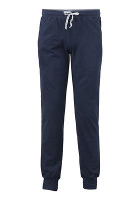 Schiesser heren lounge broek (middel dik), blauw