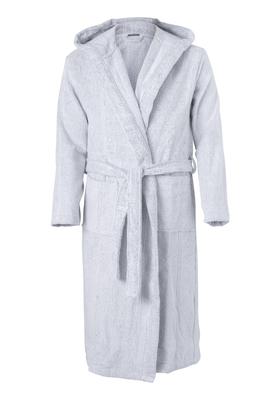 Schiesser heren badjas, lichtgrijs