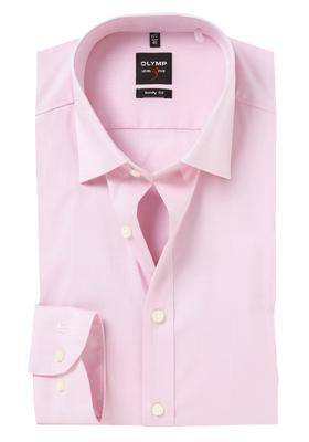 OLYMP Level 5 Body Fit overhemd, roze